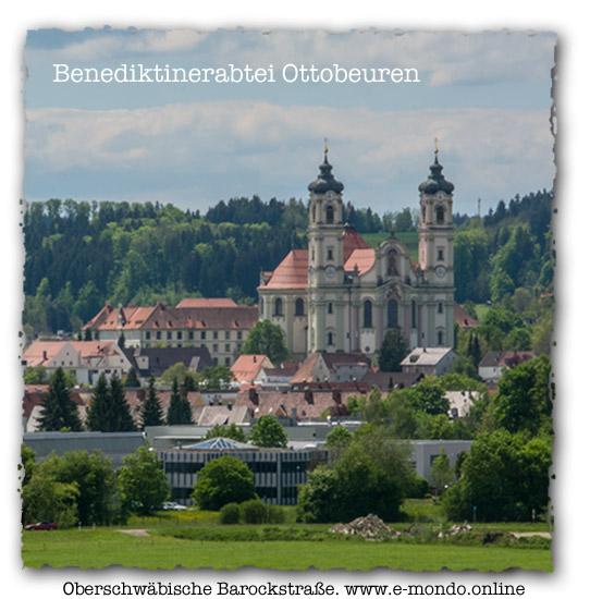 Barock-Reiserouten-Benidiktinerabtei-Ottobeuren