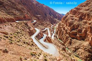 Marokko-Dadestal