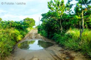 Mosambik-Strassenzustand