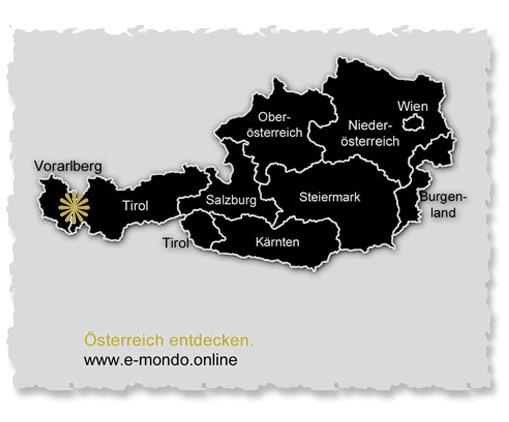 Warth-Schroecken-Zuers-Lech-Karte