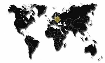 Europa-Reiseziele-Karte