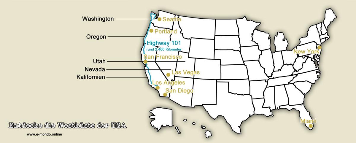 Westkueste-USA