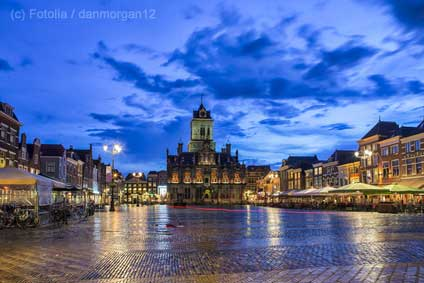 Marktplatz-Delft